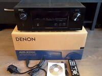 Denon X2000 7.1 Channel, 3D, 4K Upscaling Mint Condition