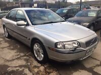 Volvo S80 2.4 SE 4dr£1,495 p/x welcome FREE 1 YEAR WARRANTY