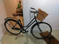 Women's 19-inch Probike Retro with Wicker Basket, Used Three Times Only £120