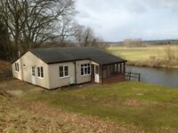 Quiet peaceful location with panoramic long views of river valley, 2 bed cottage near Norwich.