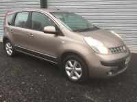 2006 NISSAN NOTE 1.4 SE IN BEAUTIFUL CONDITION 6 MONTHS WARRANTY DEBIT & CREDIT CARDS ACCEPTED