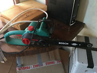 Bosch AKE 35 s chainsaw in excellent condition used only for 1 hour max