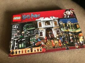 Lego Harry Potter diagonal alley brand new and sealed set RARE