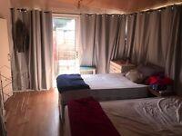 ENSUITE LARGE TWIN ROOM IN WILLESDEN GREEN