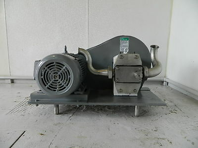 7.5 Hp Apv Crepaco Positive Displacement Pump Model R4ts