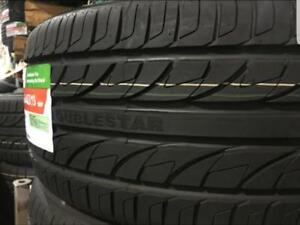 4 Pneus dete Neufs  Doublestar 225/65R17   / 4 Summer tires new Doublestar 225-65-17 OPEN 7 DAYS
