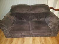 2 x DFS sofas