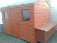 Hen house for sale 5.5ft length x 4ft wide x 4ft high