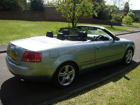 2007(56) Audi A4 3.0 TDI Sport Cabriolet Quattro 2dr V6 Turbo