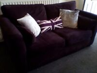 3+2 seater plumb sofas