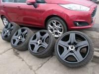 Bentley 19 inch alloy wheels MINT 5x112 audi a3 a4 a5 a6 mercedes golf passat Scirocco