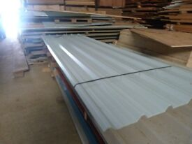 new box profile roofing sheets and assorted ply wood sheets