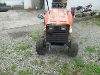 kubota G3HST 3 cylinder diesel ride on (no cutting deck)