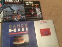 Formula One Books Job Lot (10 in total)