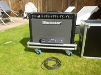 Blackstar Series 1 45 2 x 12 and Custom Flight Case £575 cash - collection only