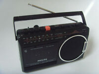 PHILIPS Portable Retro Radio