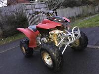 Loncin 125cc semi automatic ATV quad bike fully running very clean
