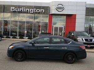 2014 Nissan Sentra S, ACCIDENT FREE, 1 OWNER ! WOW FINANCE @ 1.5