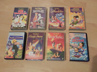 Various DISNEY Pre-Recorded VHS Video Tapes for sale - good condition