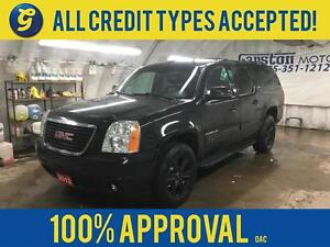 2012 GMC Yukon XL LEATHER*POWER SUNROOF**RTX APSEN BLACK RIMS WI