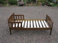 John Lewis toddler bed, mattress and bed set.