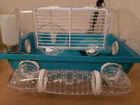 Hamster cages x 2 can be joined together