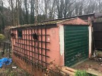 Concrete sectional garage FREE