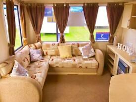 Cheap 8 berth caravan for sale with no fees until 2019! Call James!