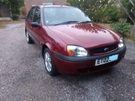 Ford Fiesta 2002 1.3, Petrol on 104951 miles
