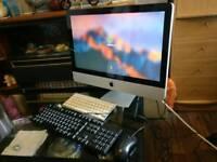 "Apple imac. 21.5"" screen Intel i3 3.2GHz - 4GB RAM. very fast"