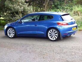 Totally mint 2011 VW Scirocco 2.0 TDI GT Bluemotion tech trade in considered, credit cards accepted