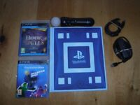 PS3 Move Bundle, Wonder Book, Move Controller, Charging Cable, Eye Camera, Move Starter Disk