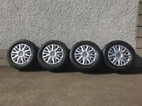 Volkswagen Golf Wheel rims, new tyres