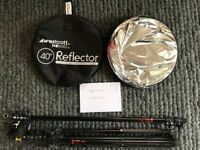 Photo Basics 40-inch 5-in-1 Reflector Kit by Westcott