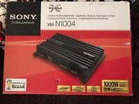 REDUCED Sony 4 channel amplifier - 1000 watts