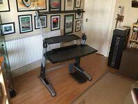 Comta workstation / computer desk. Superb quality. (Very retro)