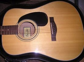 [sold] Acoustic Guitar - New - Solid Top - Pro set up - Ideal for all standards - Christmas Present?