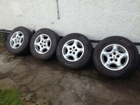 """LAND ROVER DISCOVERY 2, 1998-2004, 16"""" OUR REF SK9535 Pirelli 255 65 16"""