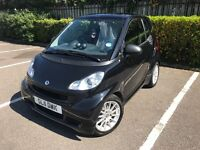 Black on Black smart for two Passion (Sat Nav)