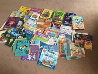 Large collection of children's books suitable for school or nursery