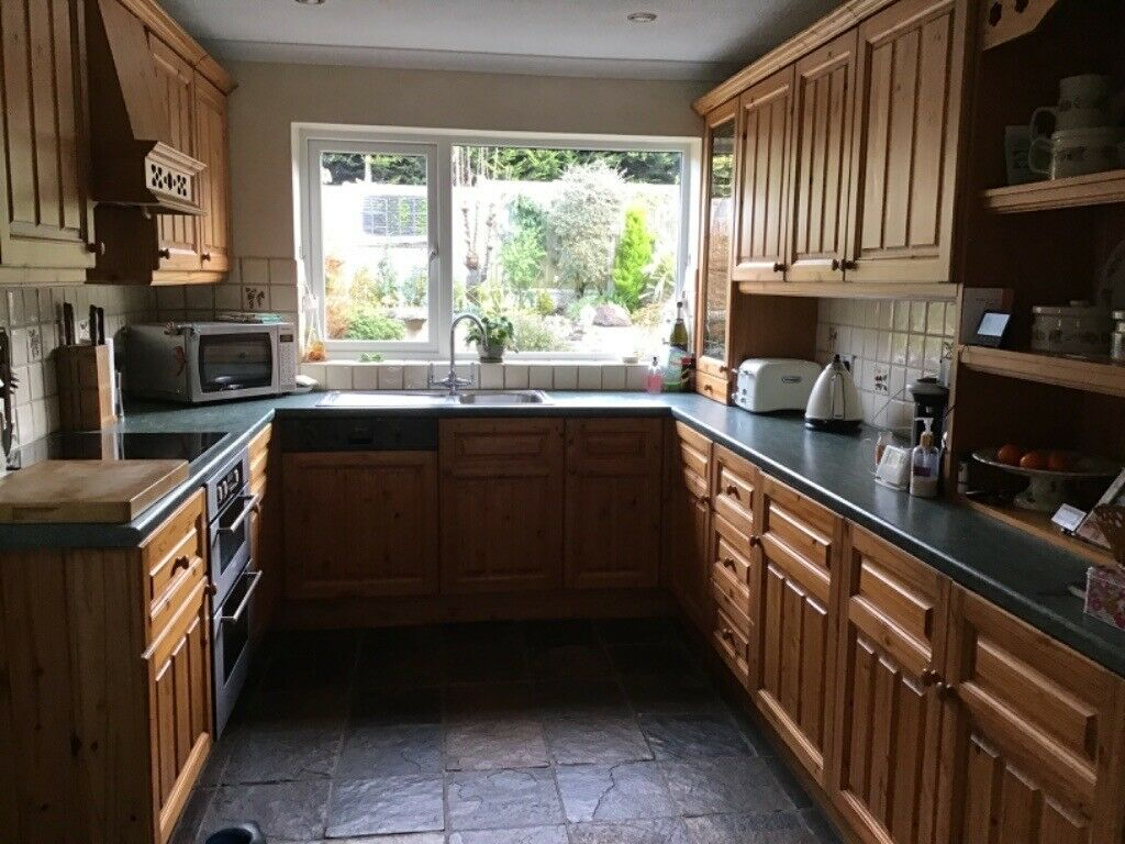 Kitchen Units In Pine In Danbury Essex Gumtree