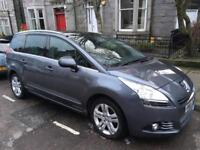 PEUGEOT 5008 1.6 Exclusive Automatic 43k miles 7 seater