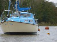 Seal 22 mark1 burmuda sloop sailing yacht
