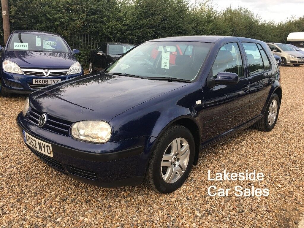 VW Golf 1.6 Petrol/Manual 5 Door Hatch, Full Service History, Long MOT