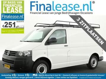 Vw Transporter 2.0 TDI L1H1 BM Airco Cruise Imperiaal €251pm