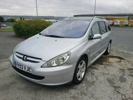 Peugeot 307 diesel 8 months mot good runner of welcome