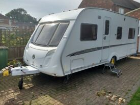 2007 fixed bed swift challenger 540 with full accessories