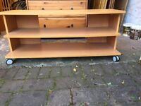 Ikea TV Stand & HiFi Unit in Beech