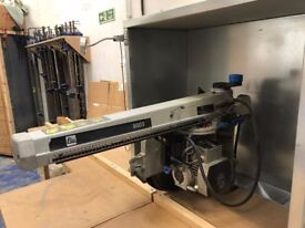 Elu 8003 Radial Arm Saw (before they became DeWalt) 3 phase. 305mm saw size.
