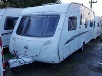 2007 Swift Challenger 540 4 Berth Fixed Bed Caravan